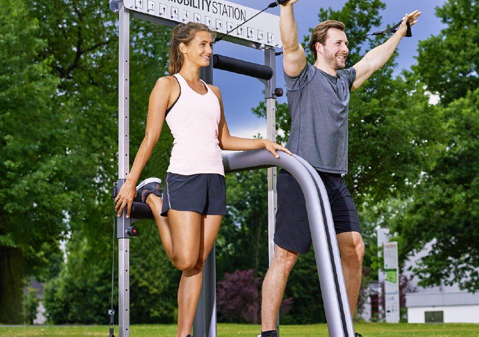 Eröffnung – Neue Outdoor-Fitnessanlage in Karben! Dr. Wolff Campus